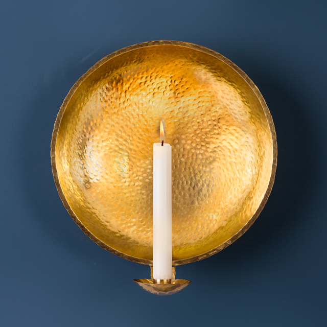 Lampett mässing - Sconce brass - Malin Appelgren Bailey