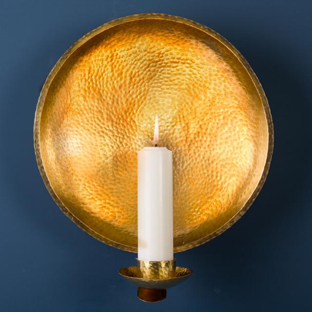 Lampett mässing - Sconce brass - Malin Appelgren Bailey