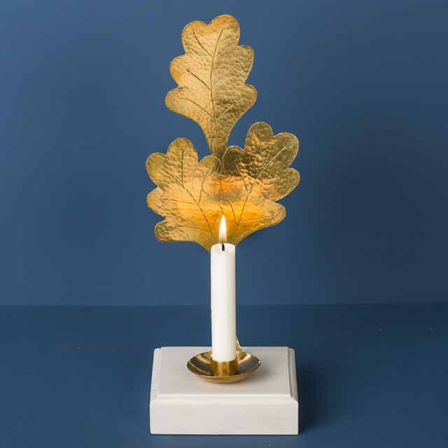 Ljustake mässing - candle stick brass - Malin Appelgren Bailey