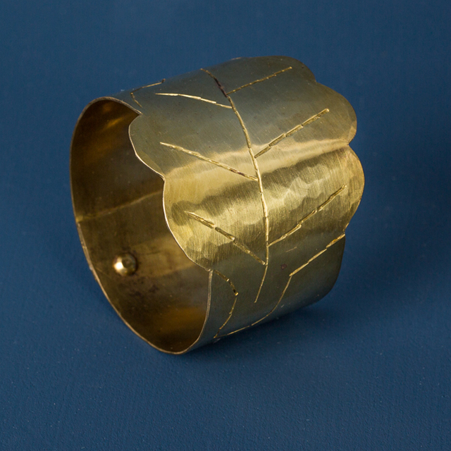 Servettring mässing - napkin ring brass - Malin Appelgren Bailey