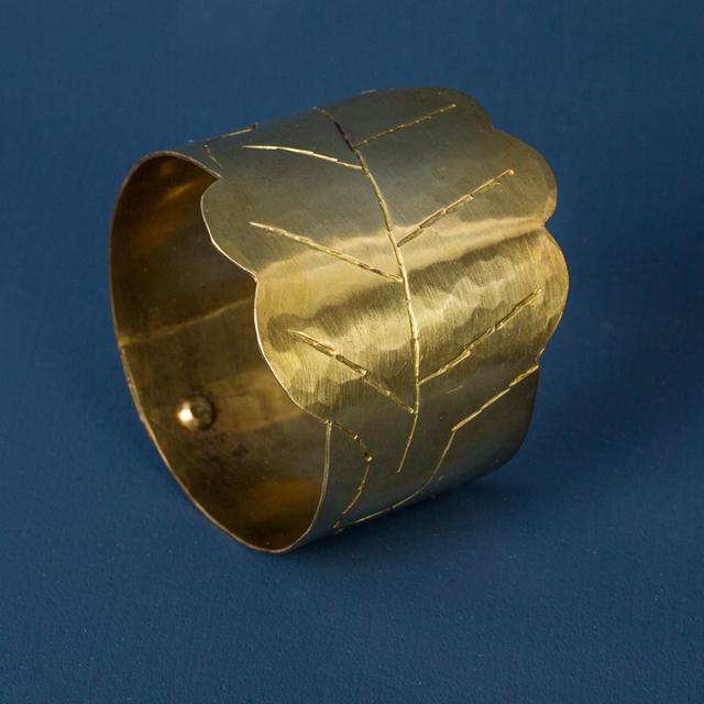 Servettring mässing - napkin ring brass - Malin Appelgren Bailey