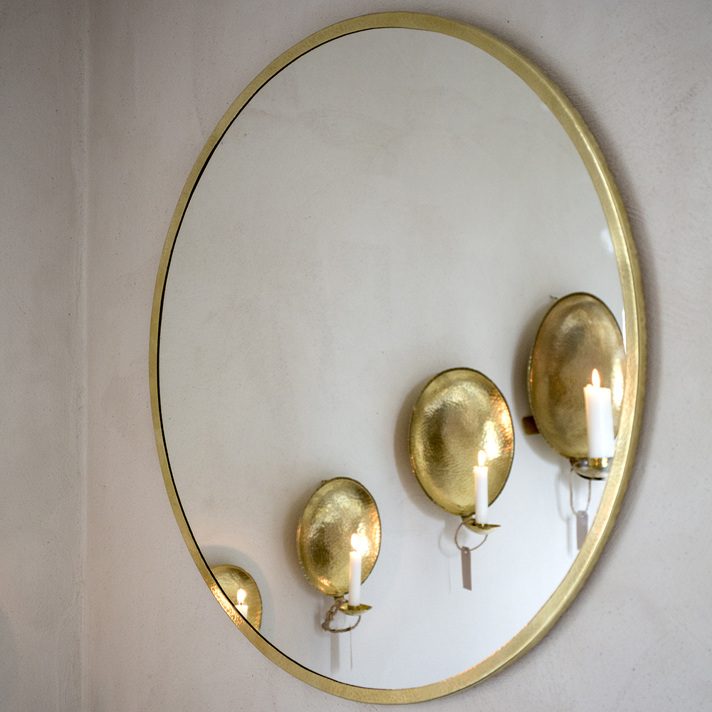 Spegel med lampett Mirror with Sconce Malin Appelgren Bailey