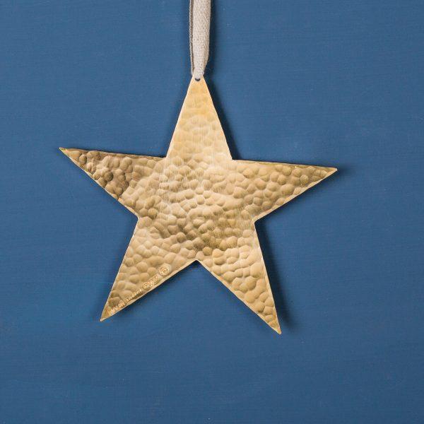 Star-christmasdecoration-brass-large-malinappelgren