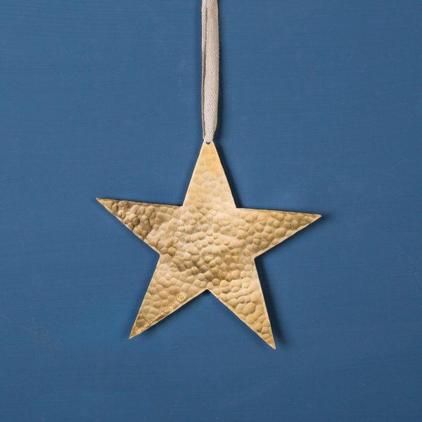 Star-christmasdecoration-brass-small-malinappelgren