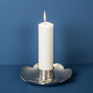 Candlestick Flower, Pewter
