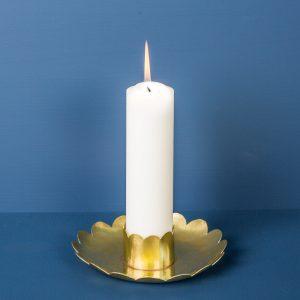 Candlestick Petal, Brass