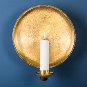 Church Wall Sconce, Brass