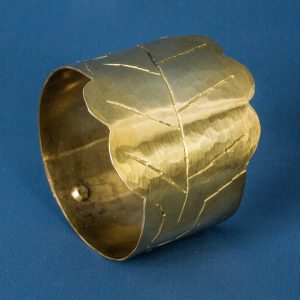 Napkin Rings, Brass