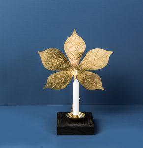 Leaf Sconce Chestnut