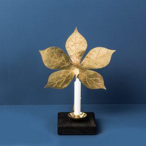 Chestnut-leafsconce-brass-black-malinappelgren