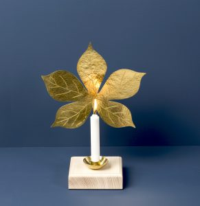 Leaf Sconce Chestnut