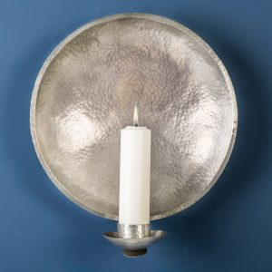 Church Wall Sconce, Pewter