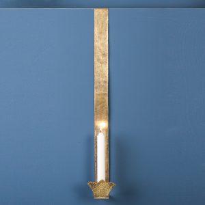 Door Sconce, Brass, Large