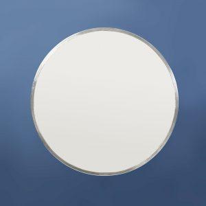 Round Mirror, Pewter