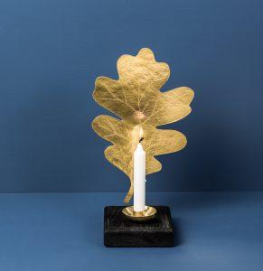 Leaf Sconce Oak