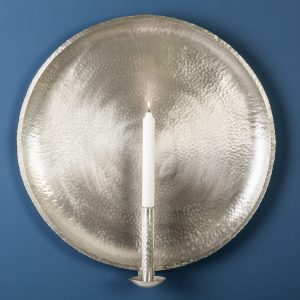 Raw Wall Sconce, Pewter